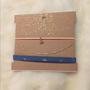 Necklace Choker Set of 3
